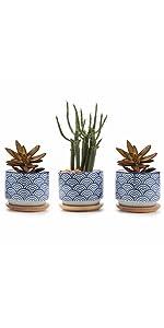 Japanese plant pots