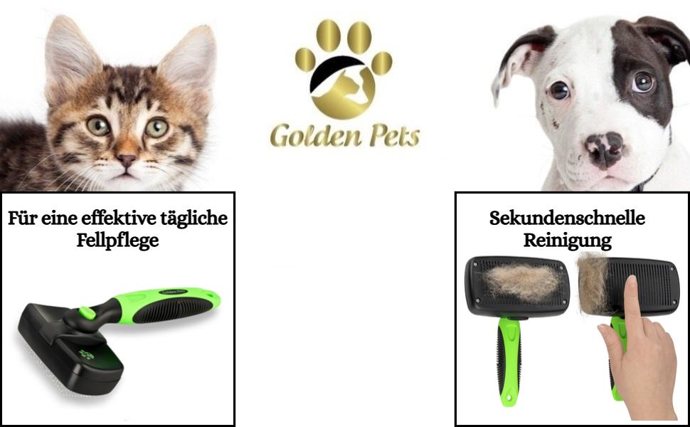 Brosse pour chien, brosse pour chat, brosse pour le pelage, peigne, chat, fourrure, sous-laine, peigne pour chien, étrille.