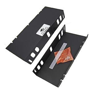 APG Cash Drawer Mounting Bracket |Under Counter|for VP1416, VP1616, and VB1616 Cash Drawers|Black