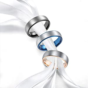 Tungsten Wedding Rings for Couples