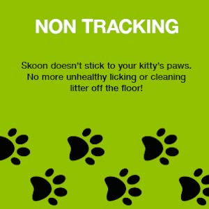 skoon all natural cat litter no low non tracking