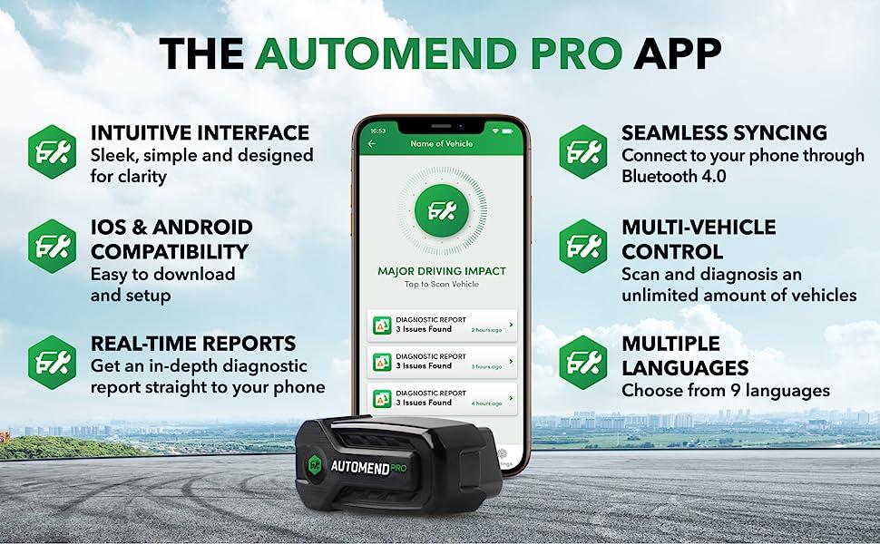 Automend Pro App
