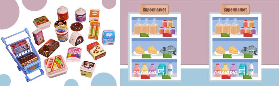 Supermarket Store Baby Babies Kids Toddlers Fun Gift Child