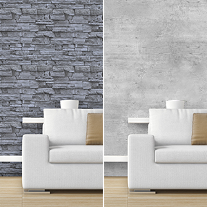 brick gray wallpaper