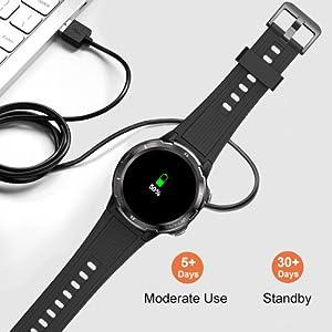 smartwatch orologio fitness uomo donna smartwatch contapassi cardiofrequenzimetro