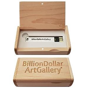 Billiondollarartgallery packaging