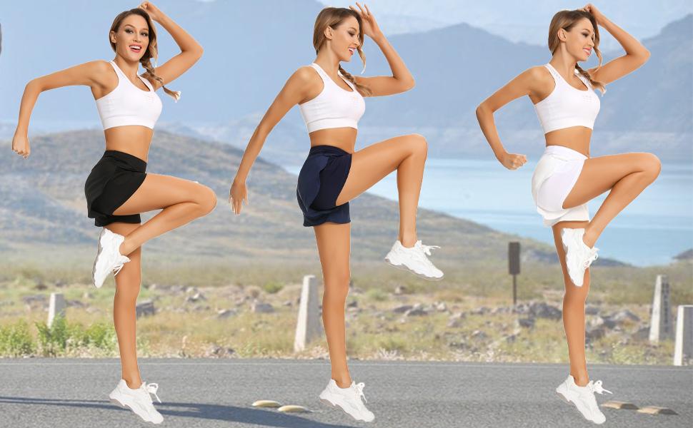 running shorts for women