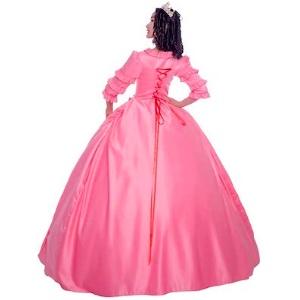 Women's Victorian Rococo Dress Inspiration Maiden Costume Vintage Dress