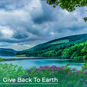 Give back to earth