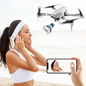drones with camera  4DRC F3 GPS Drone 4K with FPV Camera Live Video,Foldable Drone for Adults,RC Quadcopter for Beginners,with Auto Return Home, Follow Me,Dual Cameras,Waypoints, Long Control Range,1 Extra Battery+Pack 753d0a54 399f 4104 99b7 be86a89f585a