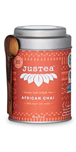 african chai loose leaf organic fair trade tea