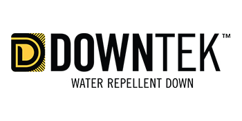 DOWNTEK sustainable water repellent pfc free down sleeping bag quilt puffer jacket duck down goose