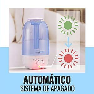 Lufie Humidificador Ultrasonicos, 2,0 Liter, Ambientador Difusor ...