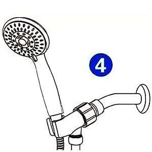 showerhead combo