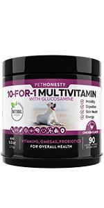 PetHonesty 10-for-1 Multivitamin Snacks