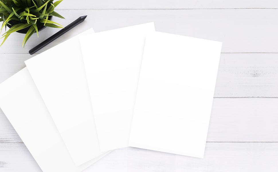 half letter size regular bond paper 8.5 x 5.5 copy writing printing multi-purpose laser inkjet