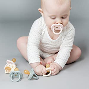 HEVEA pacifiers natural rubber plastic-free non-toxic compostable