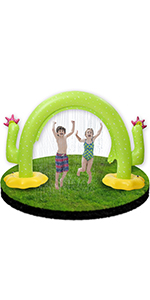 Inflatable Arch Water Sprinkler for Kids