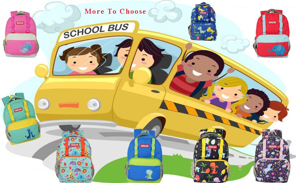 Lovely multiple-colored children's backpack