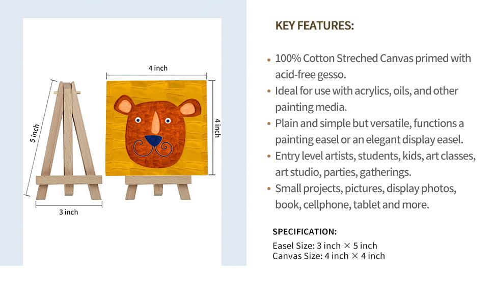 100%cotton canvas set