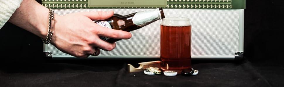 Insulated, Beer, Keeps Cool, Beer Carrier, Beercase, Novelty Gift, Beer Lovers, dad, husband, bro