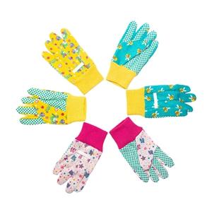 Kids gardening gloves 3-6 years old boys girls cute gloves