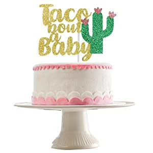 Birthday Party Cake Topper Taco Bout a Party Cake Topper Fiesta Decorations