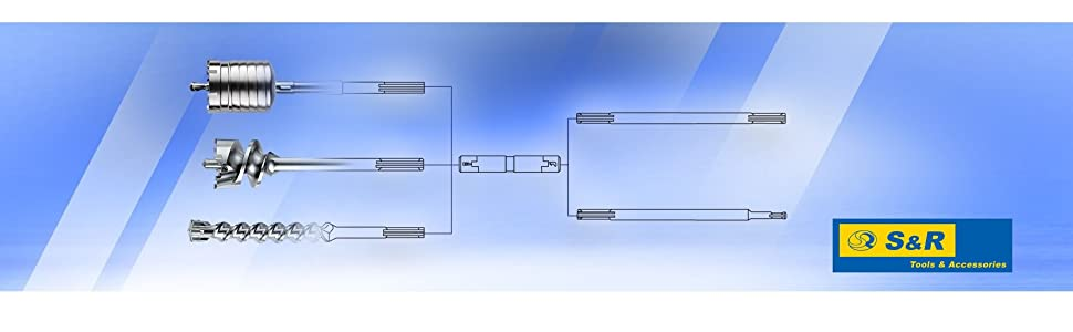 Samp;R S-R Tools Accessories Industriewerkzeuge Company Logo