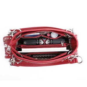 Leather Concealed Carry Tote Bag Aztec Handbag Shoulder Bag For Women
