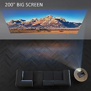 200-Inch Big Screen