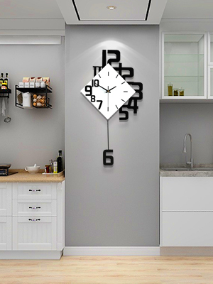 kitchen wall clock,large digital wall clock,modern wall clock,digital wall clock battery operated