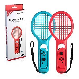 Goolsky Raqueta de Tenis Twin Pack para N-Switch Joy-con ...