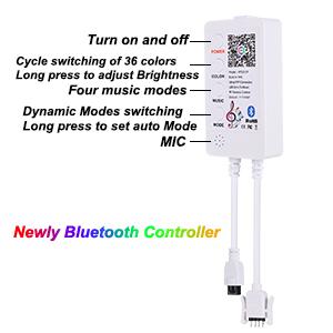 RGB Strip Lights SMD5050 App+Remote