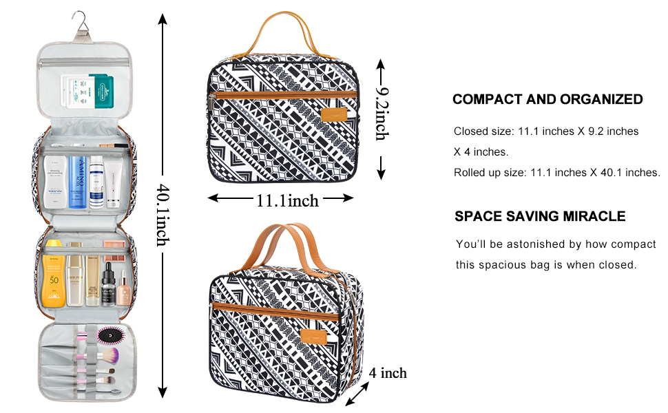 travel toiletry bag for woman