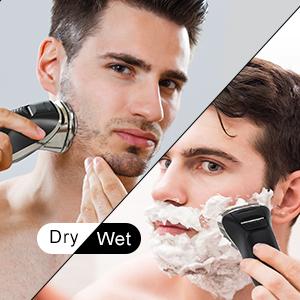 Dry or Wet Shaving