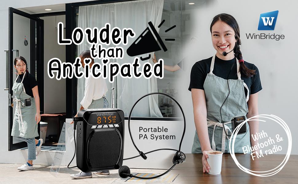 voice amplifier for teachers