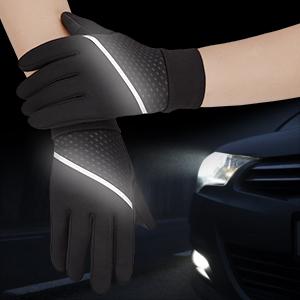 guantes estén de moda y sean novedosos visibilidad y seguridad en la oscuridad