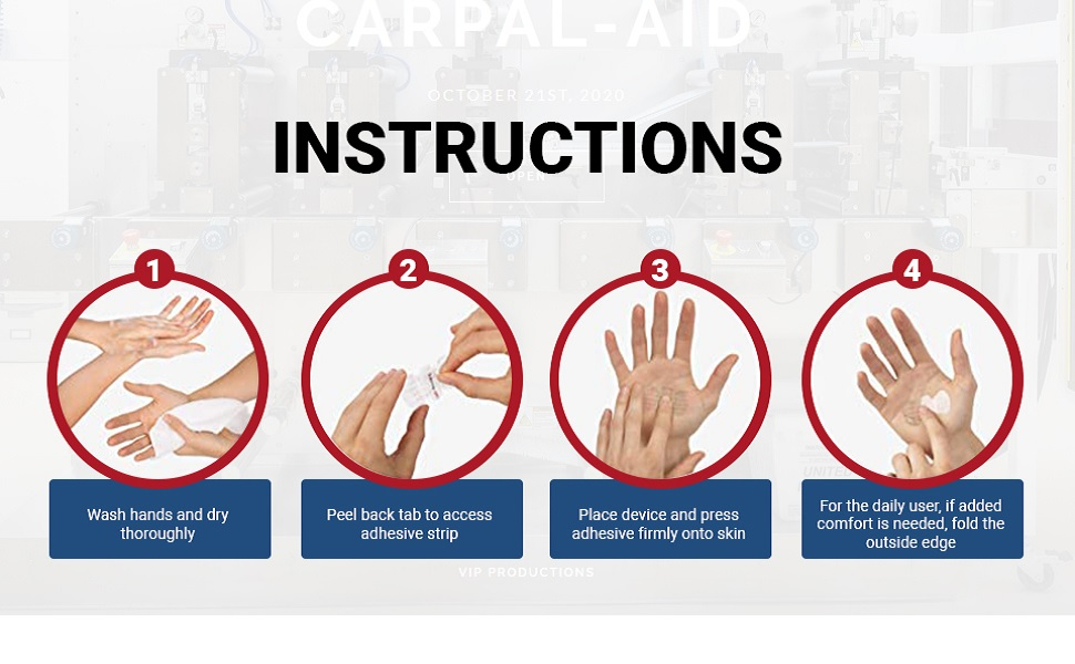 How to Use CarpalAID
