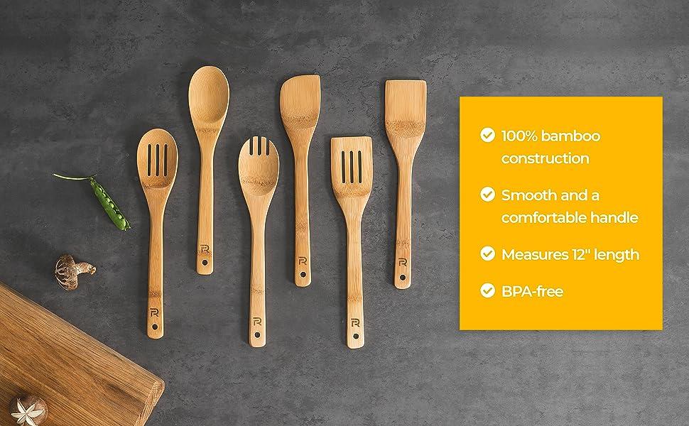 bamboo spoon set