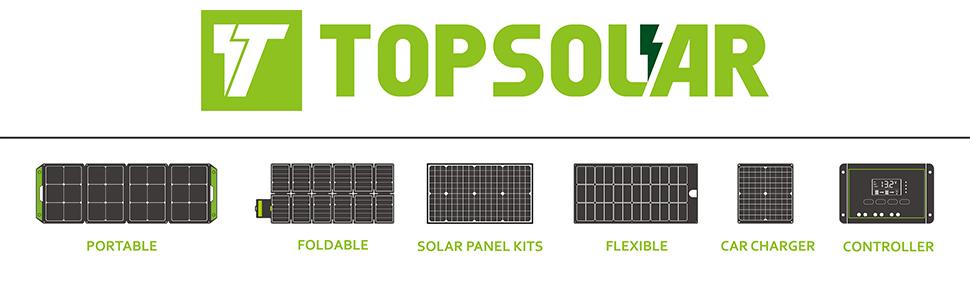 TOPSOLAR solar panel