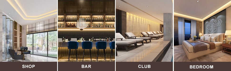 hotel bar club home restaurant kitchen shop bedroom corridor living room cinema office escalator