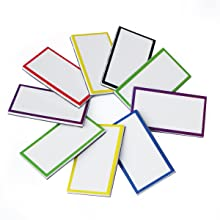 Magnetic Dry Erase Labels