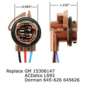 Hyper Flash/Bulb Out Error Fix Wiring Adapters For 3157 3057 3155 3357 3457 4157 LED Bulbs