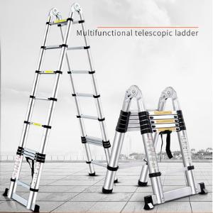 telescopic ladder aluminium telescopic ladder industrial ladder industrial equipments ladders