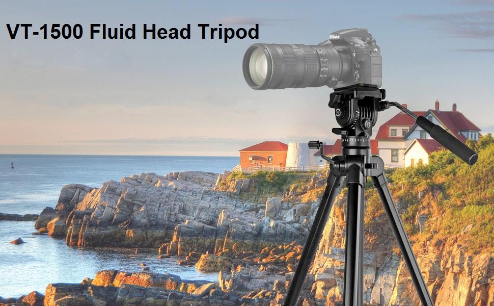fluid head tripod