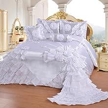 wedding set in white