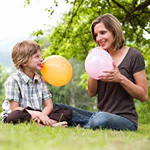 Nature Latex Child Kid Safe Green Balloons