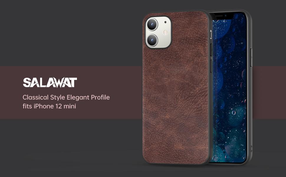 phone mini 5.4 case brown 5g 2020