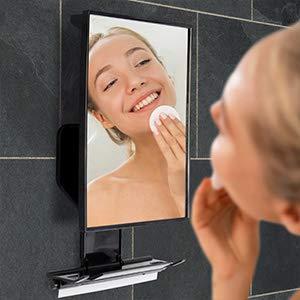 Fogless Mirror, Wall caddy, Fog free mirror, anti fog, shower mirror, shaving mirror