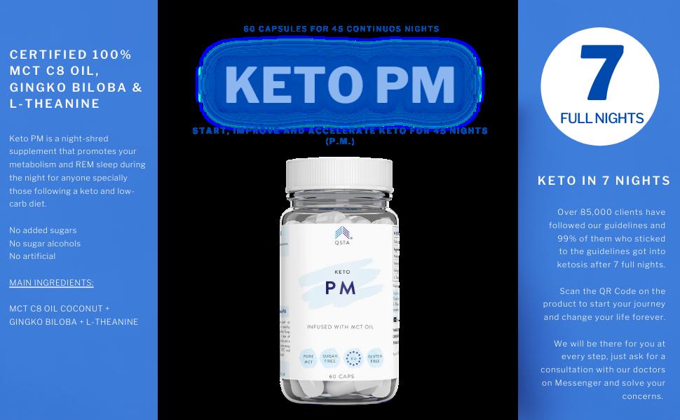 Keto diet pills night shred mct oil